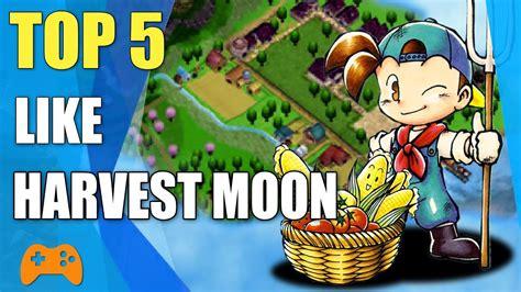 Harvest Moon 5 top 5 like harvest moon similar to harvest