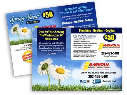Gift Card Mailer - contractor gift card mailer