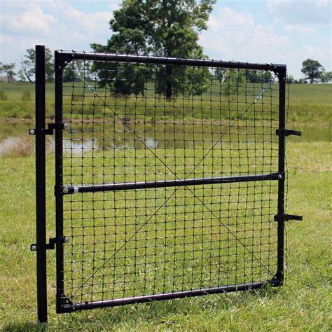 5 5 deer fence gate