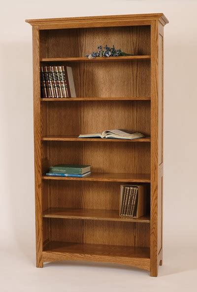 Legacy Amish Handcraft Furniture - prairie amish wooden bookcase