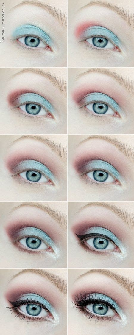 8 Steps To Springs Smoky Eye Look by 25 Best Ideas About Mint Makeup On Turquoise