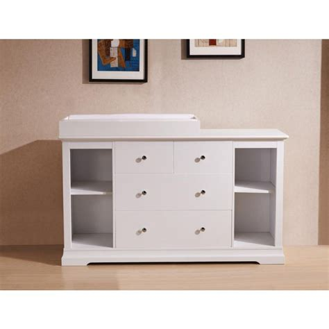White Chest Of Drawers And Baby Change Table Top Buy Chest Of Drawers Changing Table