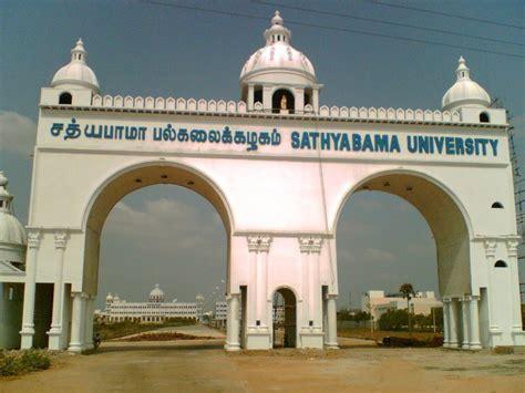 Sathyabama Mba Course Details by Sathyabama Chennai Images Photos