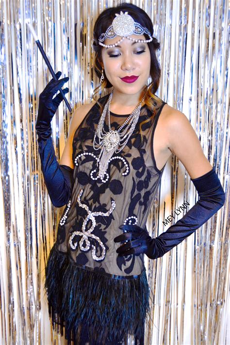 diy flapper girl costume 1920s great gatsby dresses diy the great gatsby 1920 s costume made from a dress you