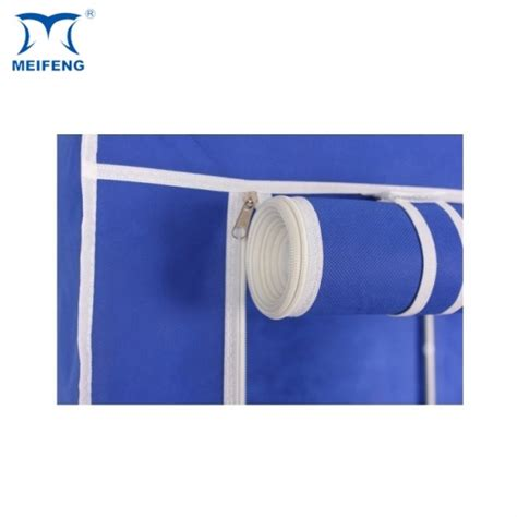 07 Multi Fucntion Wardrobe With Cover meifeng blue non woven wardrobe walk in closet products