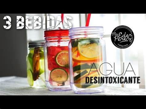 Nombres De Bebida Detox by 3 Bebidas Agua Desintoxicante Detox Water