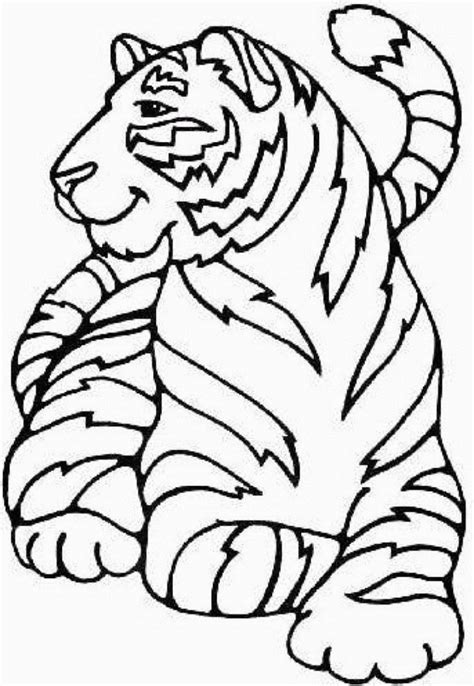 cute coloring pages for your girlfriend coloring pages free printable cute tiger animal coloring