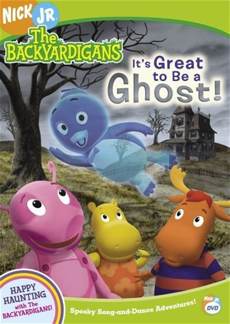 backyardigans it s great to be a ghost dvd