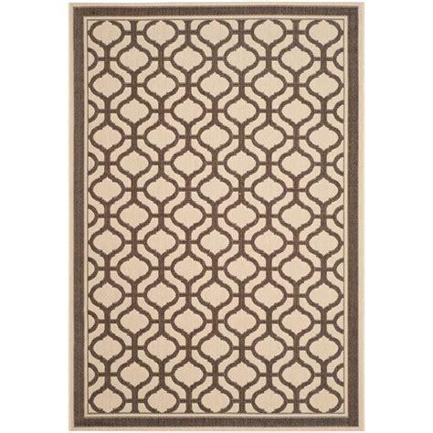 martha stewart outdoor rug martha stewart living tangier chocolate 5 ft 3 in x 7 ft 7 in indoor outdoor area rug