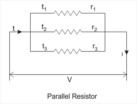parallel resistor series resistances in series and resistances in parallel