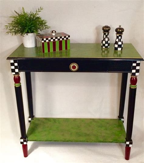 Whimsical Furniture by Whimsical Painted Furniture Painted Console Table Whimsical