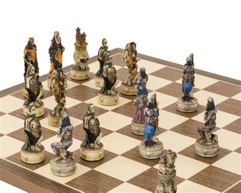 themed chess sets the zombie hand painted themed chess set by italfama