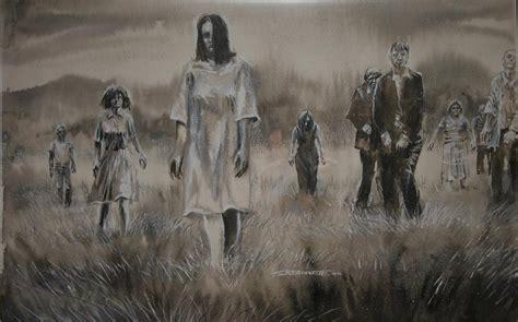 living artwork of the living dead cover in crossroads enterprises