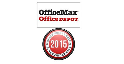 Office Depot Ta 2015 Office Depot Office Max Black Friday Ads Couponista
