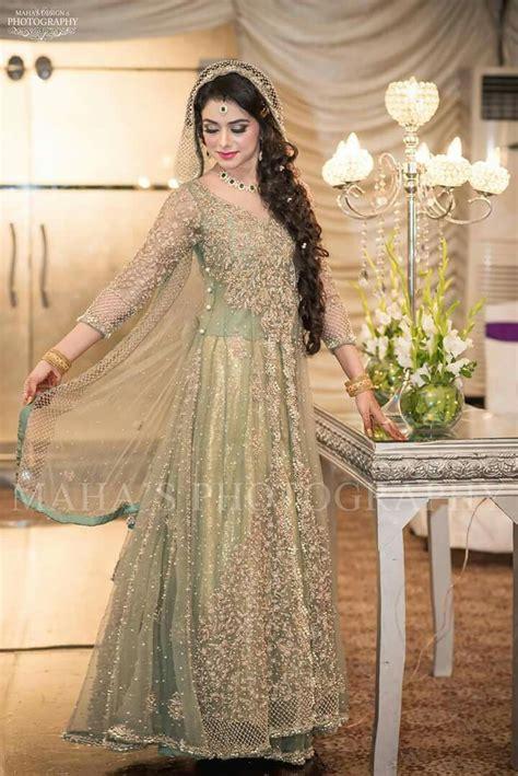 beautiful pakistani bridal indian wedding dress modern