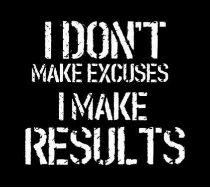 enough with excuses the tiny