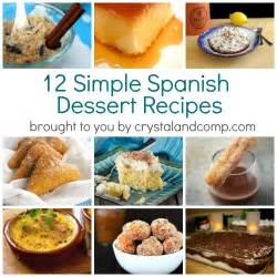 simple spanish dessert recipes