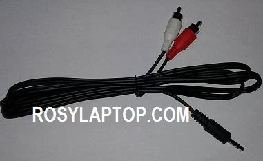 Harga Colokan Rca kabel audio aux to rca 3 colokan rosy laptop malang