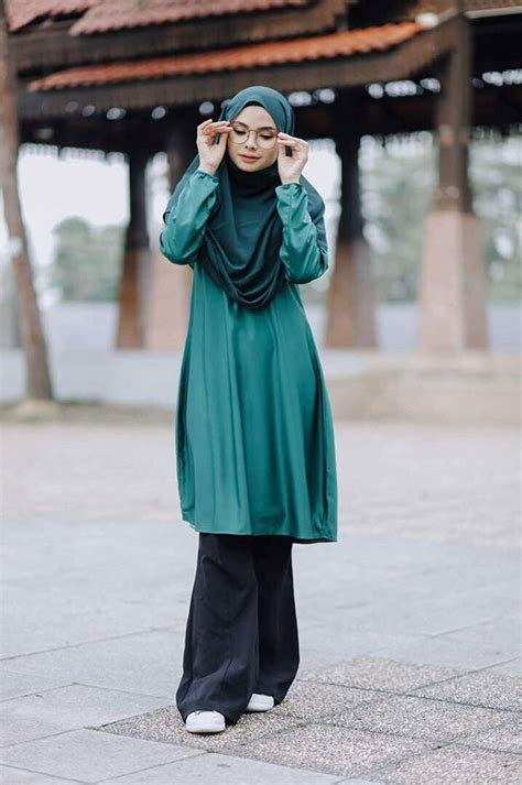 Muslimah Tunic tunic muslimah moden warda saeeda collections