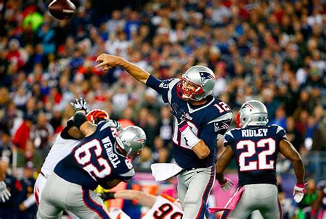 tom brady looks better than ever for new england patriots トム ブレイディに学ぶqbドロップバックのコツ red zone