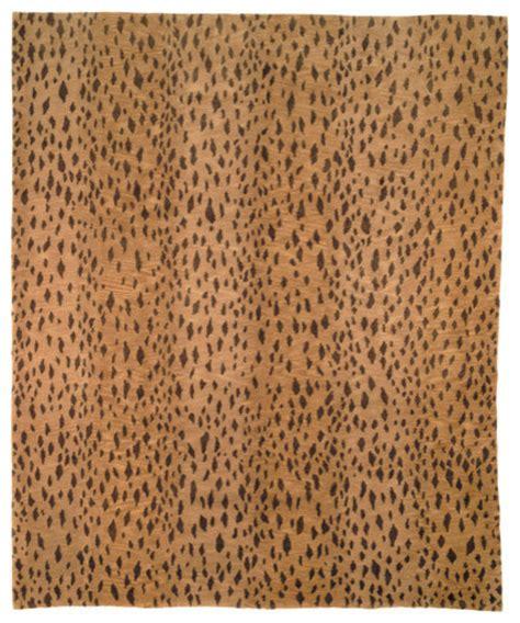Leopard Print Outdoor Rug Tibetan Leopard Print Rug Modern Rugs