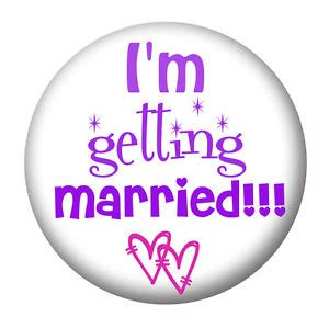 Im Getting The Sak by I M Getting Married Hen Badges Mirror
