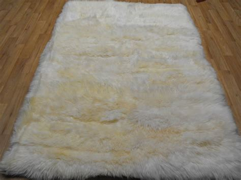 white lambskin rug sheepskin rug white rectangle sheepskin white rectangle 163 89 00 rugs centre