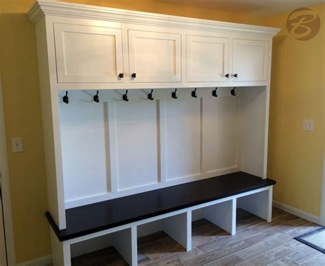 Mudroom Bench With Storage Handmade Mudroom Entryway Bench And Storage By Boltonwoodworking Custommade