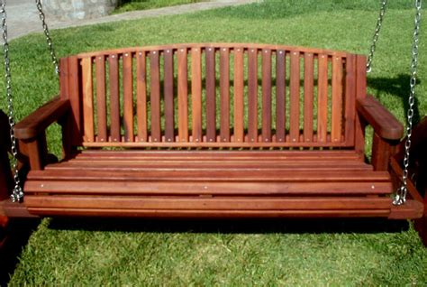 outdoor swinging benches garden bench swings seat only built to last decades