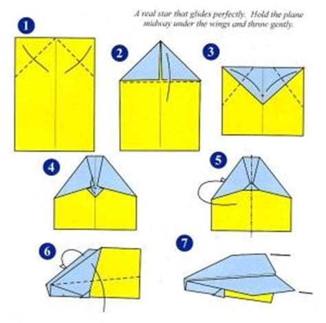How To Make A Looping Paper Airplane - 7 3 planeinstructions kid s crafts