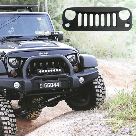 Jeep Jk Angry Grill Angry Grill Grille Jeep Wrangler Jk Seven Slot Mad