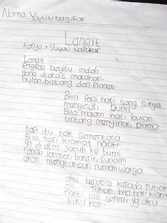 menulis puisi untuk guru kegiatan dan karya masnur muslich laporan pelaksanaan