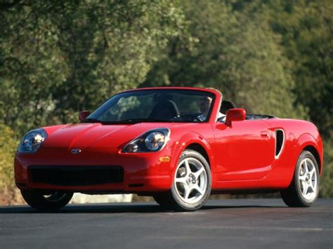 Toyota Mr2 Spyder Specs 2000 Toyota Mr2 Spyder Specs Safety Rating Mpg Carsdirect