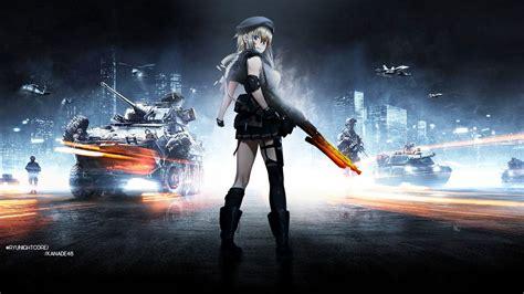 google bf3 wallpaper girl girls frontline mg3 battlefield 3 edition by kanade48 on