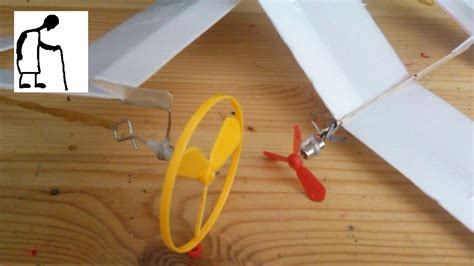 How To Make A Paper Propeller - new propellers for my styrofoam planes
