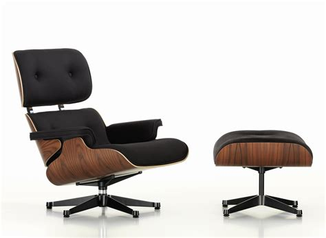 eames lounge chair ottoman sessel stoff twill - Ottoman Sessel