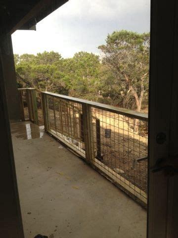 hill country homebody hog wire porch railing exterior