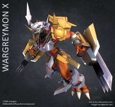 Wargreymon Papercraft - wargreymon x by sinkunarts on deviantart