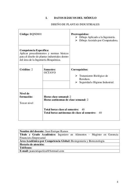 indice de un proyecto 8vo nivel scribdcom plantas industriales