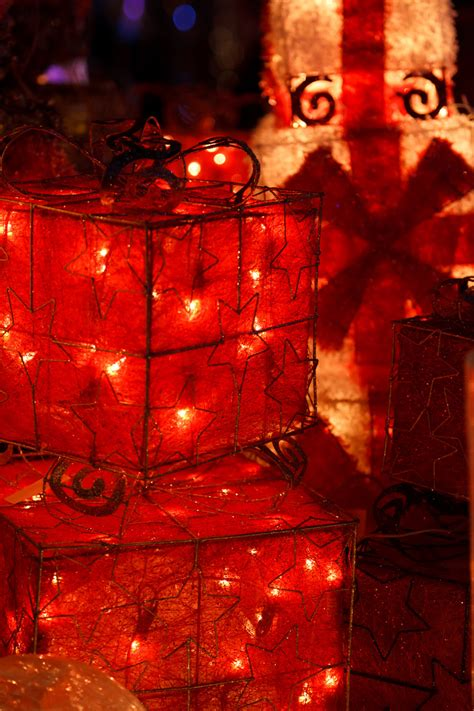 christmas light boxes free stock photo public domain