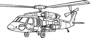 60 Black Hawk Helicopter Sketch Coloring Page sketch template