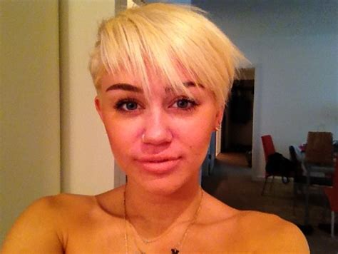 Miley Cyrus New Hairstyle by Miley Cyrus New Hairstyle Miley Cyrus Adorably Edgy New