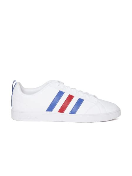 adidas neo men white  advantage casual shoes