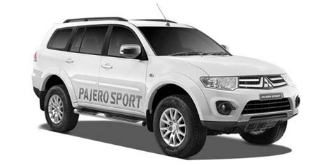 mitsubishi sports car white mitsubishi pajero sport price check november offers