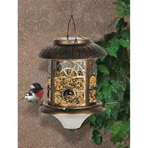 Lighted Bird Feeder Solar Lighted Bird Feeder 216692 Bird Houses