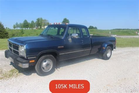 car owners manuals for sale 1993 dodge ram 50 on board diagnostic system 1993 used turbo 5 9l i6 12v 1st gen cummins diesel 1 owner manual dually clean