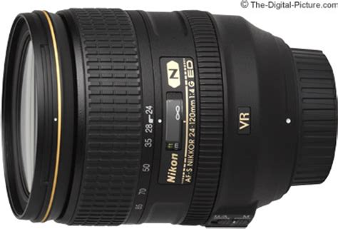 nikon 24 120mm f/4g af s vr nikkor lens press release