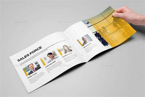 25 printable a4 landscape brochure mockups psd download