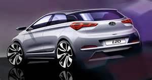 Hyundai 120 Sedan Hyundai 2015 I20 Coupe Hyundai Teases I20 Coupe Goauto