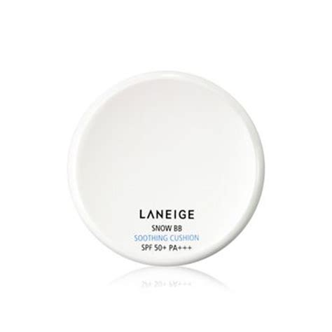 Laneige Bb Soothing Cushion laneige snow bb soothing cushion spf 50 pa reviews